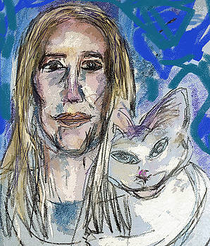 Sarah and Shai Two by Joyce Goldin