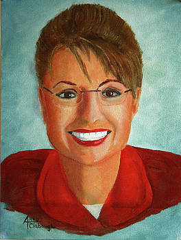 Sarah Palin by Arno Clabaugh