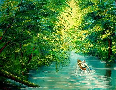 Sarapiqui River by Jean Pierre Bergoeing