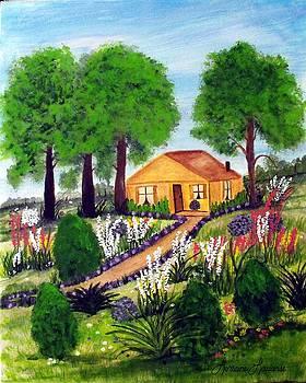 Sara's Cottage by Lorraine Louwerse