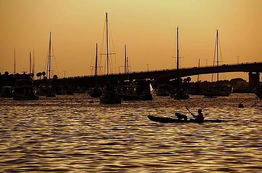 Sarasota Bay Sunset #1 by Jonathan Sabin