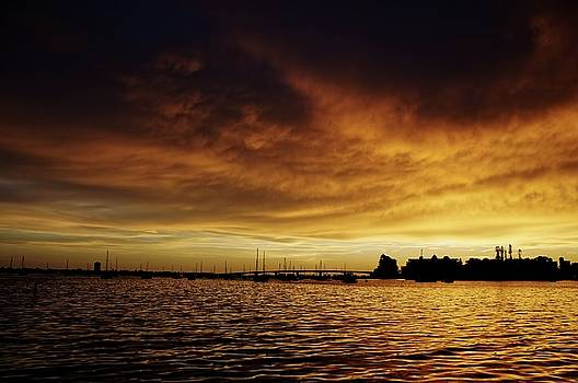 Sarasota Bay Sunset #2 by Jonathan Sabin