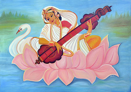 Saraswati by Shruti Prasad