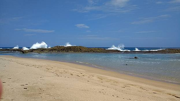 Sardineras Natural Pool  Punta Sardina Isabela Puerto Rico by Sheryl Chapman Photography