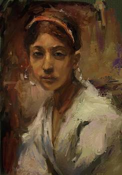 Sargent Study Number 1 Capri Girl by Brian Kardell
