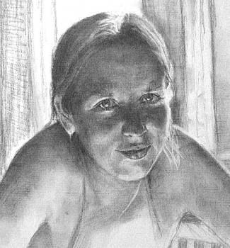 Sasha Portrait by Mikhail Savchenko