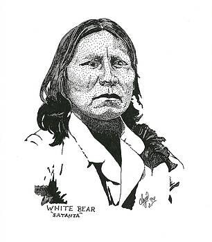 Satanta White Bear by Clayton Cannaday