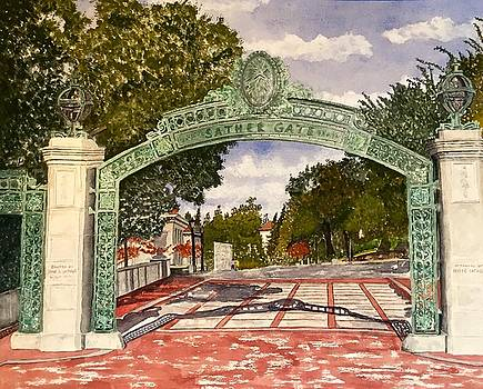 Sather Gate by Sharon Gerber