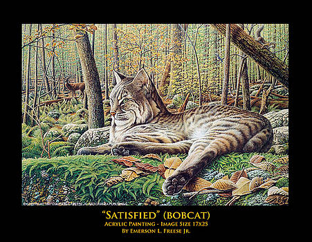 Satisfied by Emerson L Freese Jr
