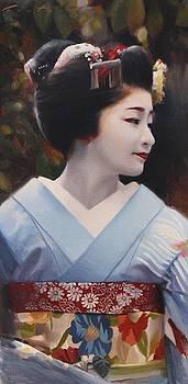 Satsuki - Geisha Art by Phil Couture
