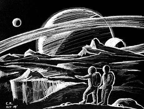 Saturn Visitors by Daniel House