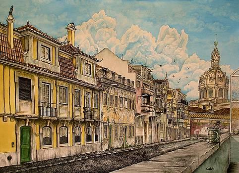 Saudade/ The Swallows of Lisbon by Caleb  Hamm