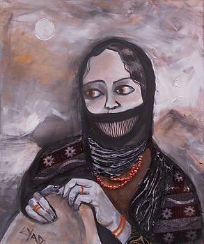 Saudi Woman by Eric Shelton