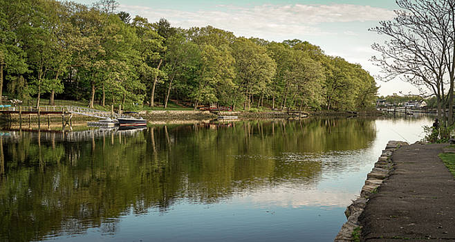 Saugatuck River - Westport by Mike-Hope by Michael Hope