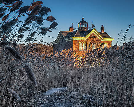 Saugerties Lighthouse  by Jeffrey Friedkin