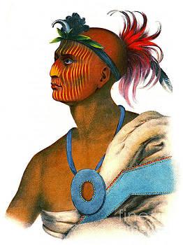 Sauk Warrior 1842 by Padre Art