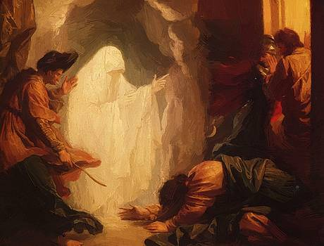 West Benjamin - Saul And The Witch Of Endor 1777