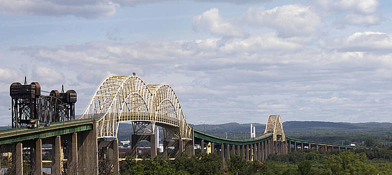 Sault Ste. Marie International Bridge by Danielle Allard