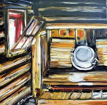 Sauna by Sheila Tajima