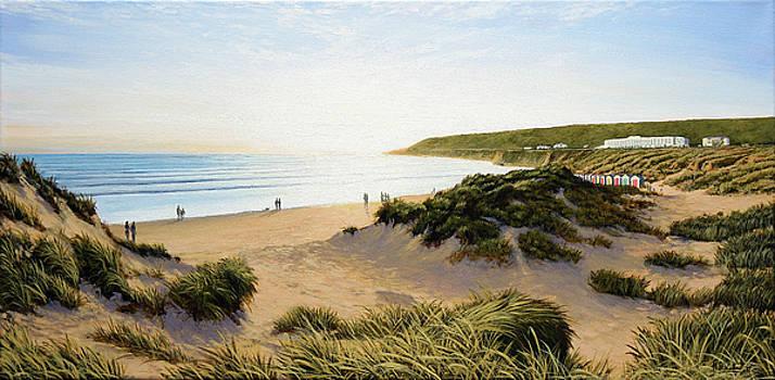 Saunton Beach by Mark Woollacott