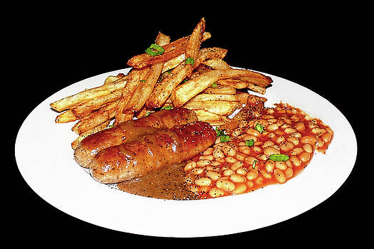Sausage and Chips by Stuart Harrison