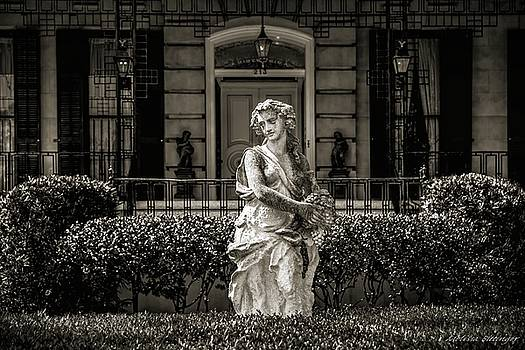 Savannah Architecture and Statuary by Melissa Bittinger