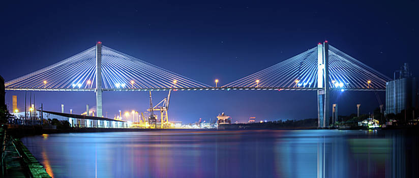 Savannah Bridge by Mark Andrew Thomas