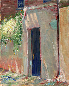 Savannah Garden Gate by Doris Blessington