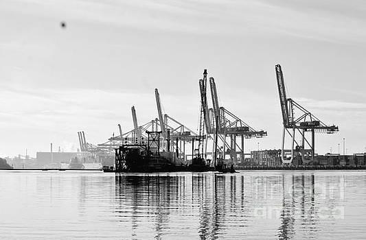Savannah Georgia Docks by Keri West