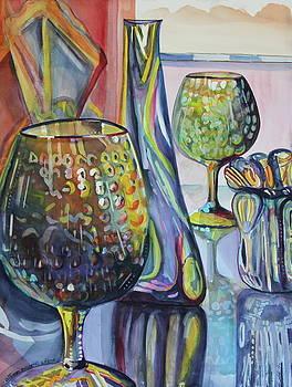 SAVANNAH Glass Shop Window by Allison  Adams