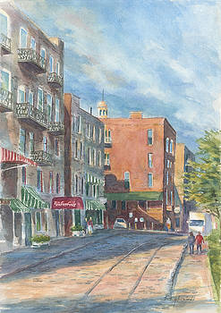 Savannah Morning by Kerry Kupferschmidt