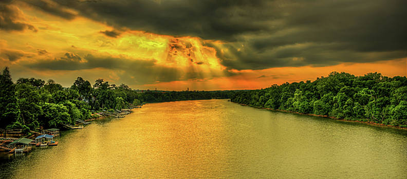 Savannah river  by Ahmed Shanab