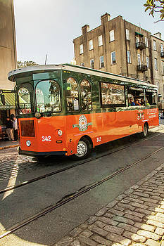 Savannah Trolley Tours by Carol Mellema