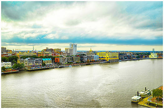 Savannah's Vivid River Front by Nena Pratt