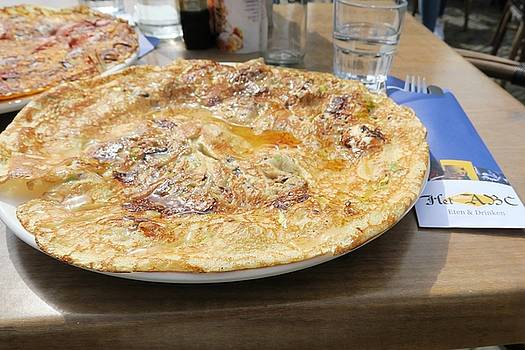 Savory Pancake by Sandra Bourret