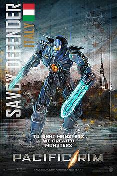 Andrea Gatti - Savoy Defender Movie Poster