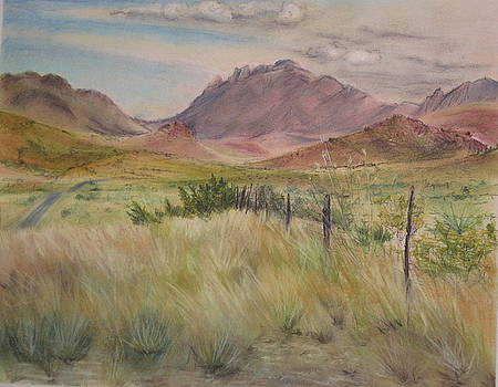 Saw Tooth Mountain by Karen Boudreaux