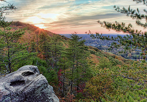 Sawnee Mountain and the Indian Seats by Anna Rumiantseva