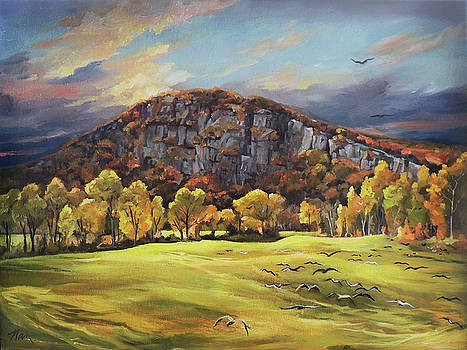 Sawyers Mountain by Nancy Griswold