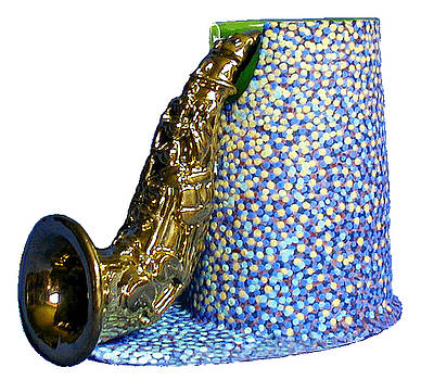 Sax Cup by Duane Ewing