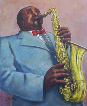 Sax Solo by Edward Farber
