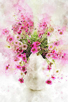 Saxifraga Tangle Splash by Ann Garrett