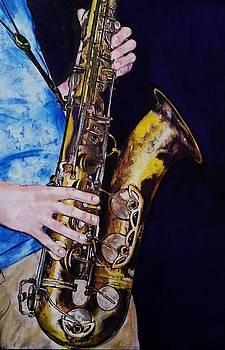 Saxman by Mandy Thomas