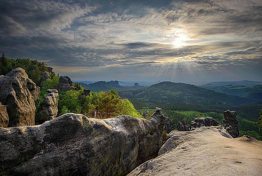 Saxon Switzerland National park, Germany by Marek Kijevsky