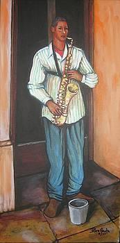 Saxophone 1 by Jorge Parellada