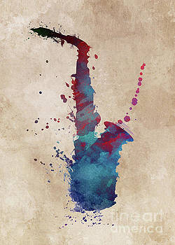 Justyna Jaszke JBJart - saxophone art music instrument
