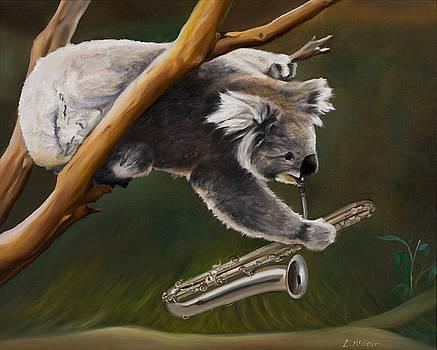 Saxy Koala by Loretta McNair