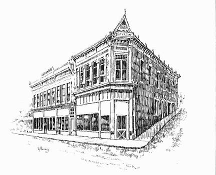 Sayr Building Historic Philipsburg Montana by Kevin Heaney