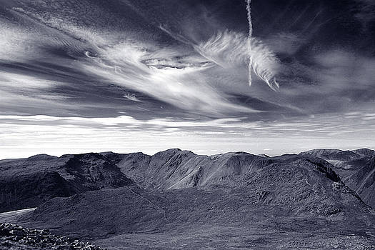 Scafell scape by Dave Perks