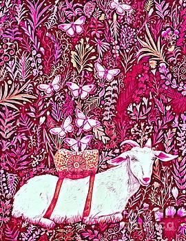 Scapegoat Healing in Fuchsia by Lise Winne